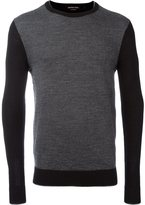 MICHAEL Michael Kors herringbone effect jumper - men - Merino - XXL