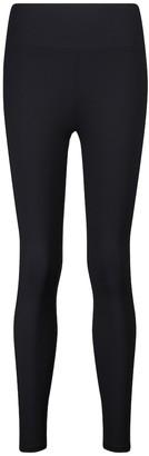 Lanston Nolan high-rise ribbed-knit leggings