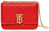 Burberry Small Quilted Monogram Leather TB Bag