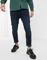 Brave Soul skinny fit jeans-Blue