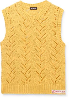 Raf Simons Alpaca-Blend Sweater Vest