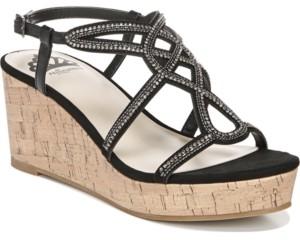 Fergalicious Mimic City Wedge Dress Sandals Women's Shoes