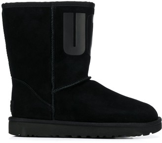 UGG Logo Ankle Boots