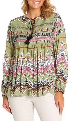 Marc O'Polo Marco Polo Long Sleeve Tuck Detail Shirt Jkt