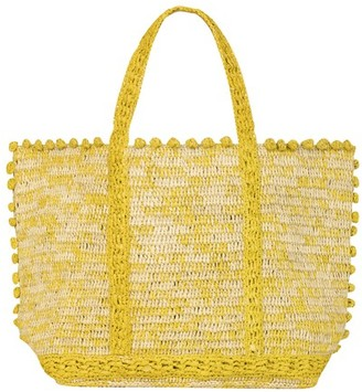Vanessa Bruno Medium + Raffia Cabas Tote Bag
