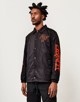 The Idle Man Paradise Coach Jacket Black