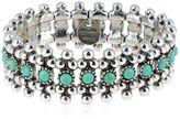 Philippe Audibert Han Turquoise Stretch Bracelet