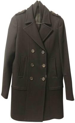 Neil Barrett Black Coat for Women