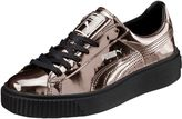 Puma Basket Platform Metallic Women's Sneakers