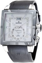Edox Men's 62002 3 AIN GMT Quartz Classe Royale Watch