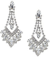 Cezanne Fan Drop Chandelier Earrings