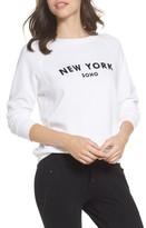 David Lerner Women's New York Soho Raglan Pullover