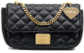Marc B Pennie Black Crossbody Bag