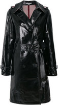 Stella McCartney faux leather trench coat