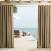 west elm Outdoor Solid Curtains - Sandstone