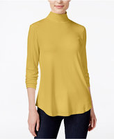 JM Collection Petite Turtleneck Top, Only at Macy's