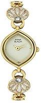 Titan Women's 2497YM03 Raga Gold Metal Strap Watch