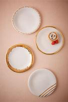 BHLDN Gilded Gold Plates (4)