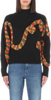 The Elder Statesman Rope-detail cashmere jumper