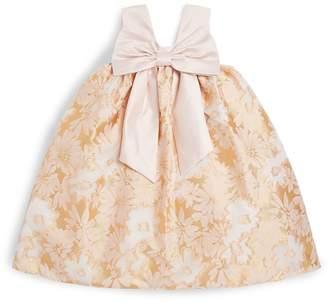 Hucklebones London Floral Jacquard Trapeze Dress
