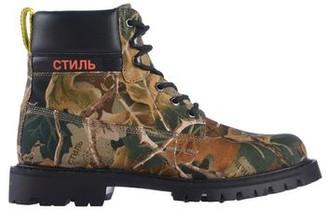 Heron Preston Ankle boots