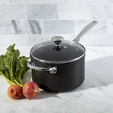Crate & Barrel Le Creuset ® Toughened Nonstick 4-Qt. Sauce Pan with Lid