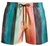 Paul Smith Artist Stripe-print swim shorts