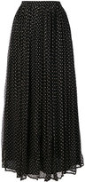 Mes Demoiselles polka dot pleated skirt