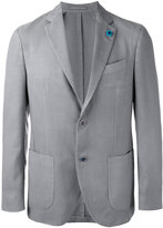 Lardini two-button blazer - men - Silk/Cashmere/Wool - 52