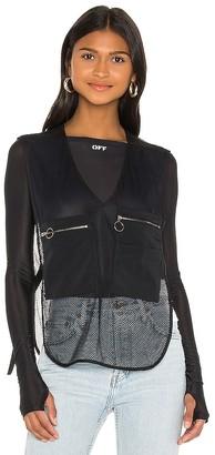 Off-White Oversize Pockets Gilet Vest