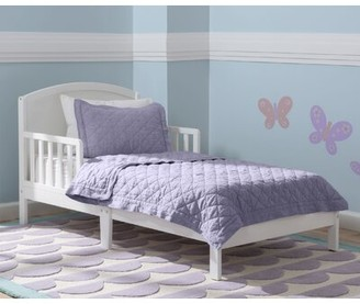 Delta Children Abby Toddler Bed Color: Bianca