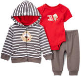 Buster Brown Red 'Mom's Silly Monkey' Bodysuit Set - Infant