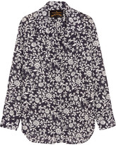 Vivienne Westwood Nomad Printed Cotton-voile Shirt - Navy