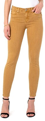 Liverpool Abby Skinny Jeans in Toasted Wheat (Toasted Wheat) Women's Jeans