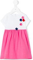 Il Gufo floral appliqué dress - kids - Cotton/Spandex/Elastane - 6 mth