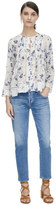 Rebecca Taylor Long Sleeve Meteor Flower Top