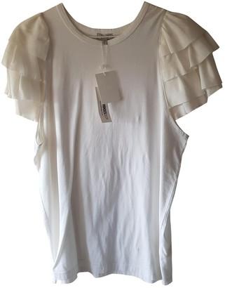 Clu White Cotton Top for Women