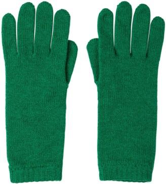 Johnstons of Elgin Emerald Short Cuff Womens Cashmere Gloves