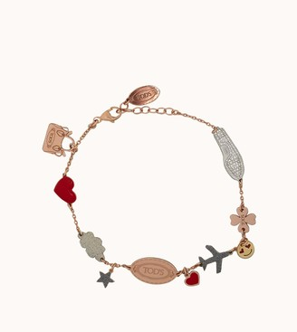 Tod's Travel Charms Chain Bracelet