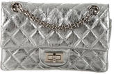 Chanel Metallic Reissue 224 Double Flap Bag