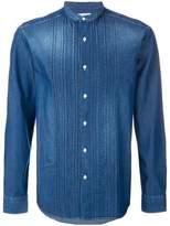 Paolo Pecora mandarin collar denim shirt