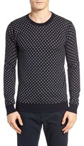 Scotch & Soda Men's Polka Dot Crewneck Pullover
