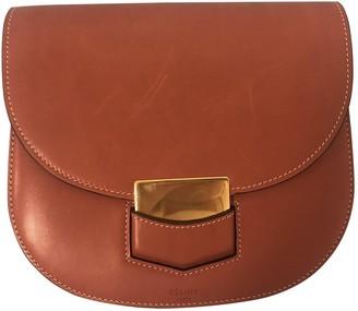 Celine Trotteur Orange Leather Handbags