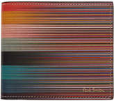 Paul Smith Multicolor Artist Stripe Wallet