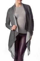Pietro Brunelli Women's 'Merano' Maternity Drape Front Cardigan
