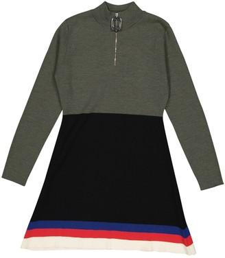 J.W.Anderson Khaki Wool Dresses
