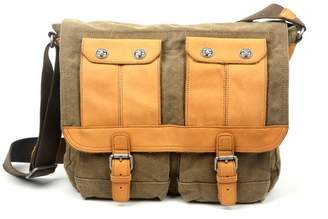 TSD Valley River Canvas Messenger Bag