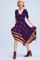 Hd In Paris Striped Pane Midi Dress