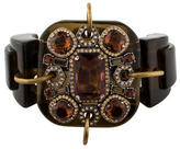 Lanvin Embellished Buckle Bracelet