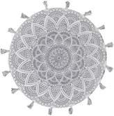 Rug Culture Lillu Handmade Round Rug, White, 120x120cm